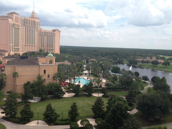 The Ritz-Carlton Orlando, Grande Lakes: View from room 953