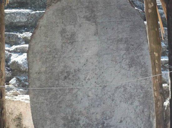 Ruines de Cobá : Glyph