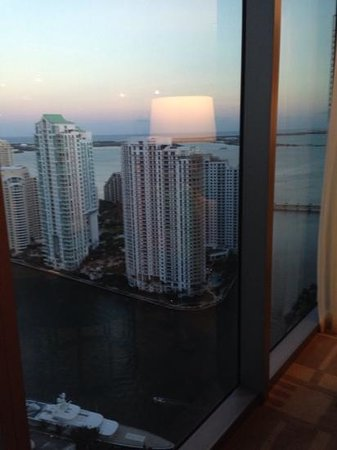 JW Marriott Marquis Miami : View from lounge