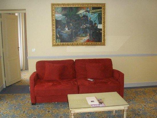 Fraser Suites Le Claridge Champs-Elysees : salon