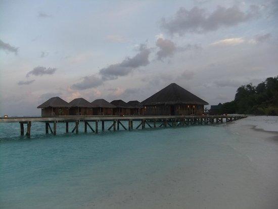 Meeru Island Resort & Spa : Over water Spa