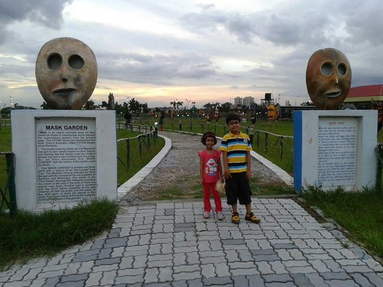 Eco Tourism Park: Mask Garden