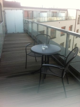 Park Inn Hotel Prague : balcony