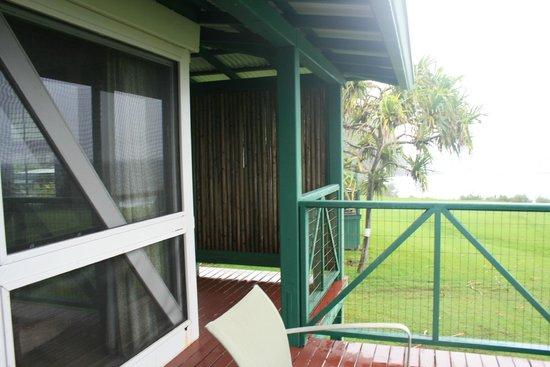 Travaasa Hana, Maui: porch