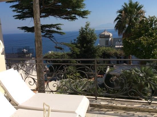 Hotel Excelsior Parco: vista do quarto