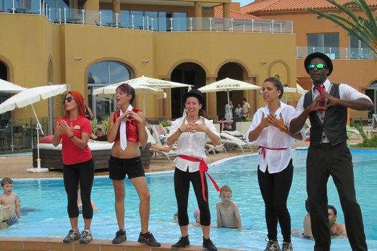 Pestana Porto Santo All Inclusive: Animation team!