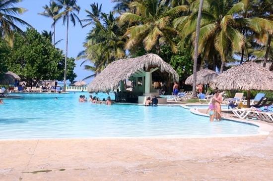 Caribe Club Princess Beach Resort & Spa: pool bar