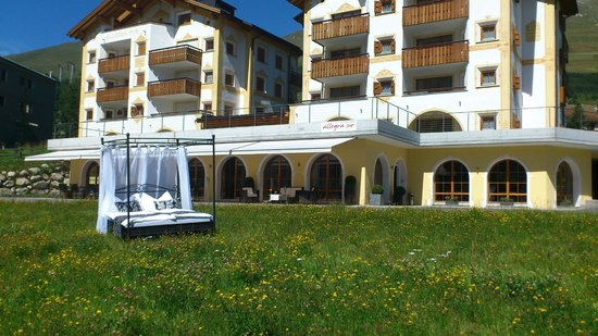 Hotel Allegra: Originell - doch Sie schlafen drinnen!