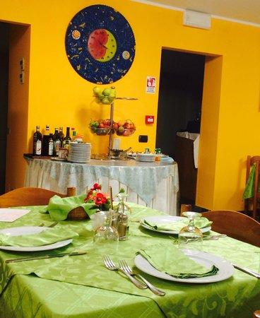 Hotel Villa Claudia: La sala da pranzo