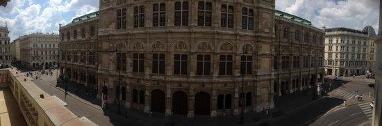Hotel Sacher Wien: Sicht an die Wiener Staatsoper