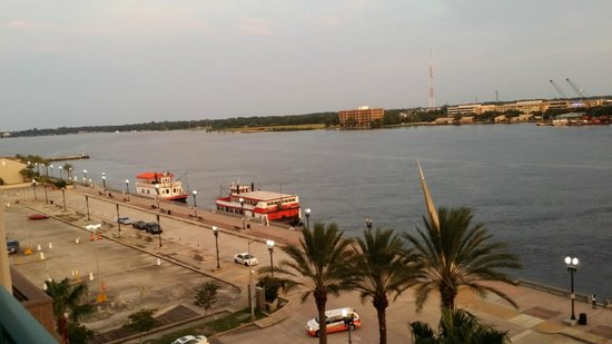 Hyatt Regency Jacksonville Riverfront: View from King Deluxe room