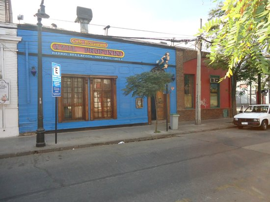 La Chascona (maison de Pablo Neruda) : Bairro Boêmio Bellavista onde está a La Chascona