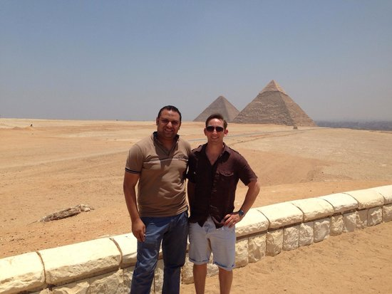 Memphis Tours: Me with the best Memphis tour guide for Cairo.