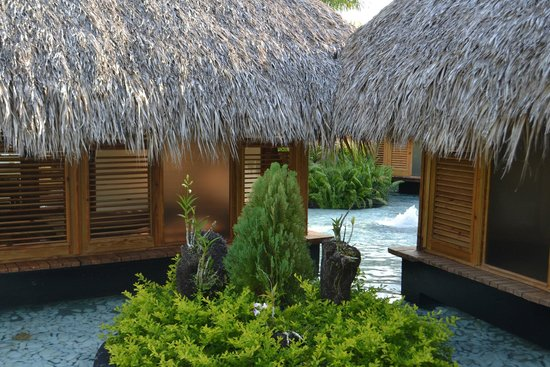 Paradisus Punta Cana : Spa area palafitos