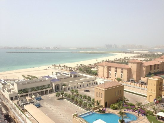 JA Oasis Beach Tower: View from Balcony on 9th floor