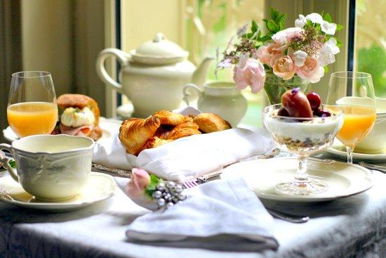 Chateau de La Chaix : Petit déjeuner