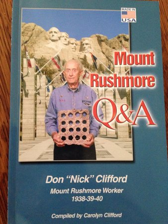 Mount Rushmore National Memorial : Available in the gift shop. It will answer many questions you might have about the monument.