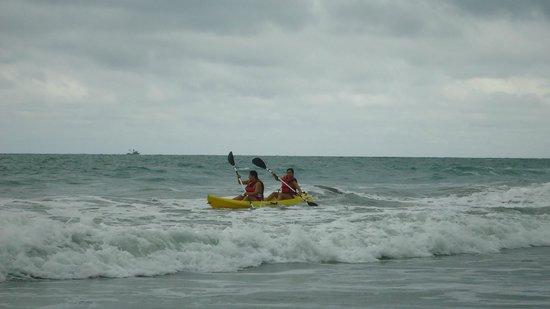 Royal Decameron Mompiche: Recreandonos en kayac