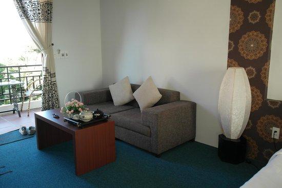 Botanic Garden Homestay: Sofaafdeling