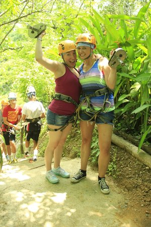 Canopy River : Right after our first run!  Too much fun!!