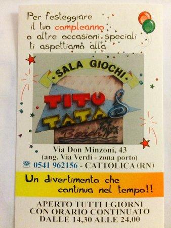 Sala Giochi Tito & Tata: anche per compleanni !!! :D