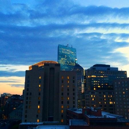 Revere Hotel Boston Common: Roofdeck view