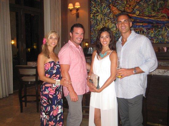 The St. Regis Bahia Beach Resort: Lobby bar