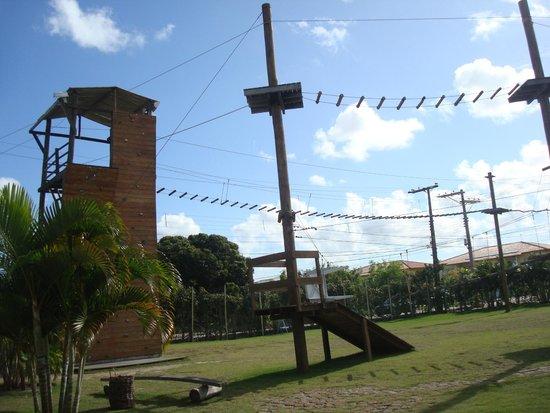 Resort La Torre: arvorismo do hotel