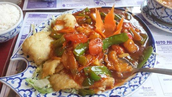 Bangkok Restaurant: Spicy Fish Filet