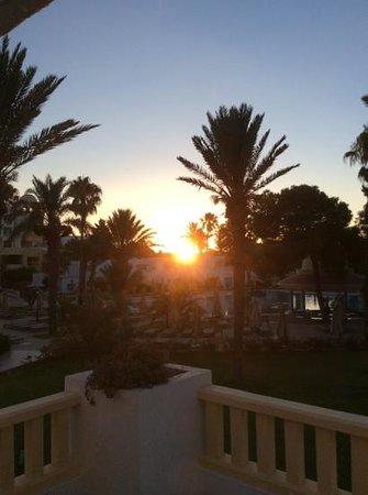 Hotel Palace Hammamet Marhaba : июль 2014, раннее утро