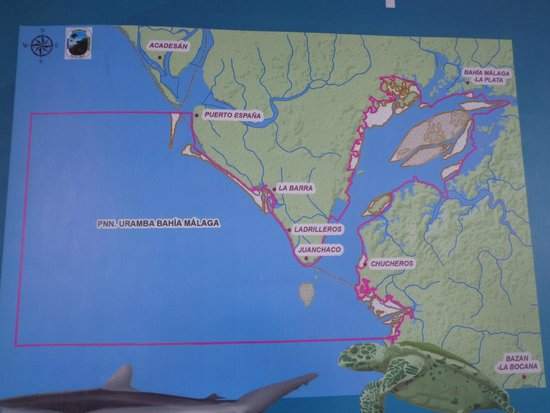 Papagayos Beach Hotel: Mapa de la Zona