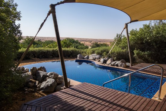 Al Maha, A Luxury Collection Desert Resort & Spa: Private pool