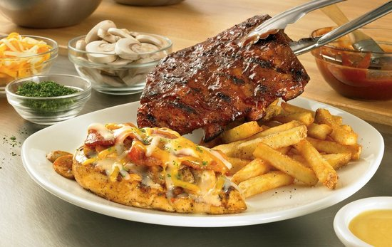 Outback Steakhouse: Best Combo - Baby Back Ribs and Alice Spring Chicken