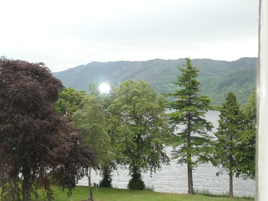 Aonach Mor at the Highland Club : View from the room