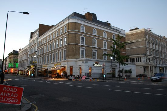 Citadines South Kensington : THE HOTEL FROM GLOUCESTER ROAD