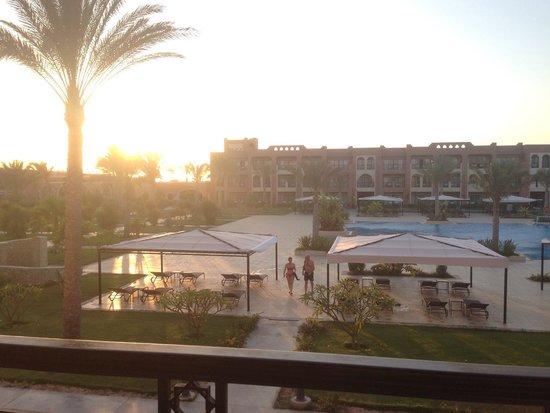 Jaz Oriental Resort: Vista dalla nostra camera