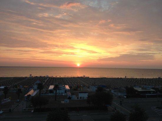 Ferretti Beach Hotel : vista dalla camera....