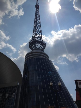 Country Music Hall of Fame and Museum : Top of the museum
