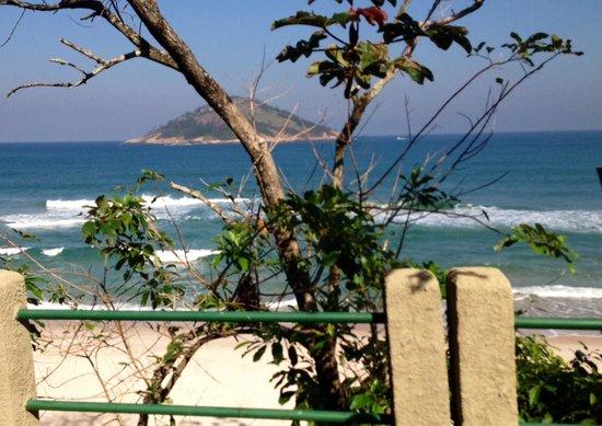 Grumari Beach : Chegada à Praia de Grumari