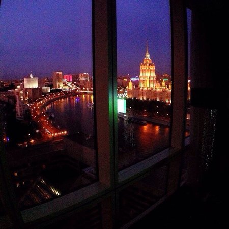 Crowne Plaza Moscow World Trade Centre: View from club room number