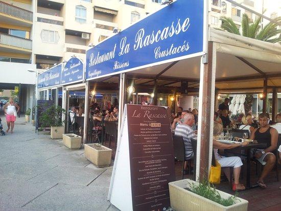 Restaurant La Rascasse: Terrasse