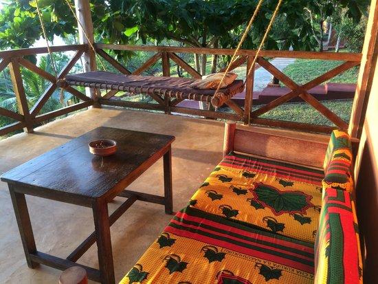 Kichanga Lodge: Terrasse