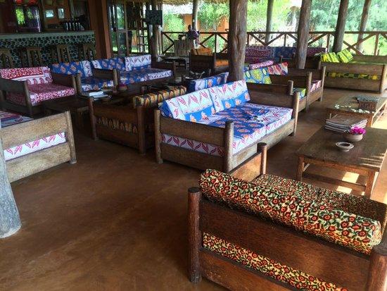 Kichanga Lodge: Parties communes