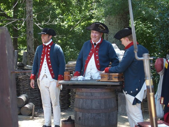 American Revolution Museum at Yorktown: 18th century soldiers!