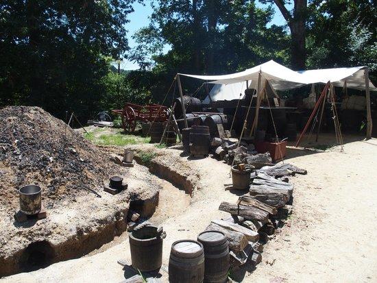 American Revolution Museum at Yorktown: The encampment