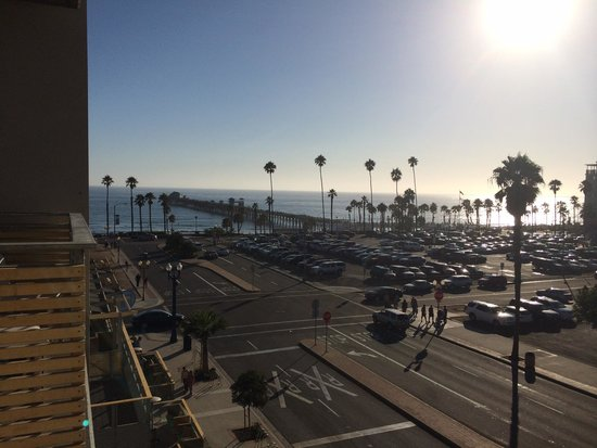 SpringHill Suites San Diego Oceanside/Downtown: View from balcony