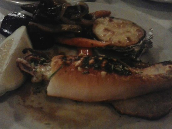Restaurante El Penon : Calamar a la brasa