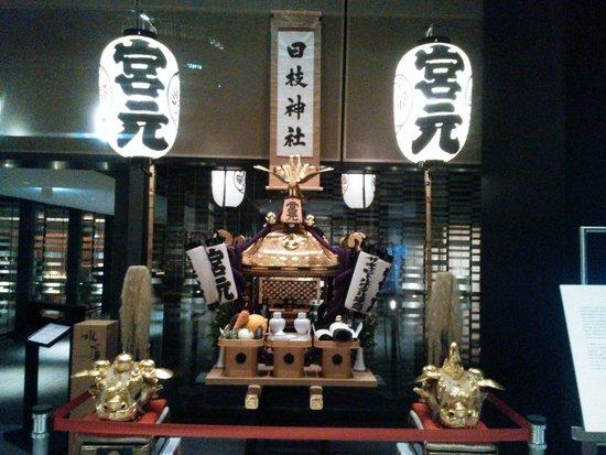 Hie Shrine : ザ・キャピトルホテル東急に飾ってあったお神輿です