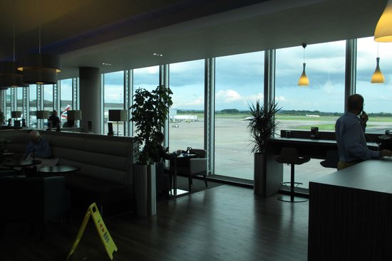 Aspire Lounge: view