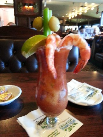 Old Fisherman's Grotto : Top Shelf Bloody Mary